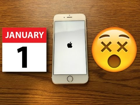 Don't set your Apple iPhone's date to January 1, 1970! This ios 11 Hack will Crash your iPhone 8