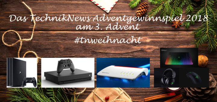 TechnikNews Adventgewinnspiel #3