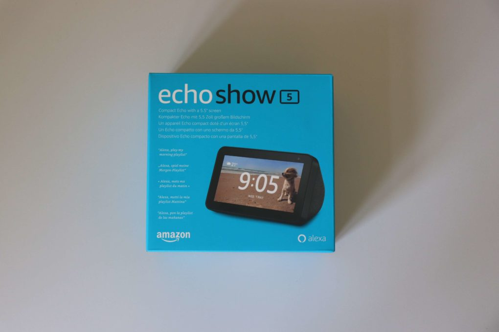 Amazon Echo Show 5 Test Verpackung