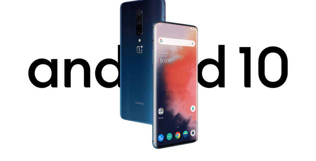 Android 10 OnePlus 7T