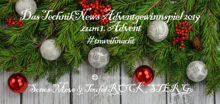 TechnikNews Adventgewinnspiel 2019 #01