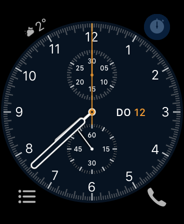 Apple Watch Watchface Chronograph