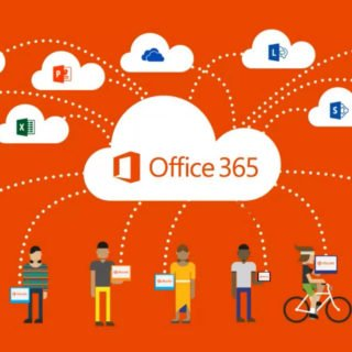 Microsoft Office 365 Header
