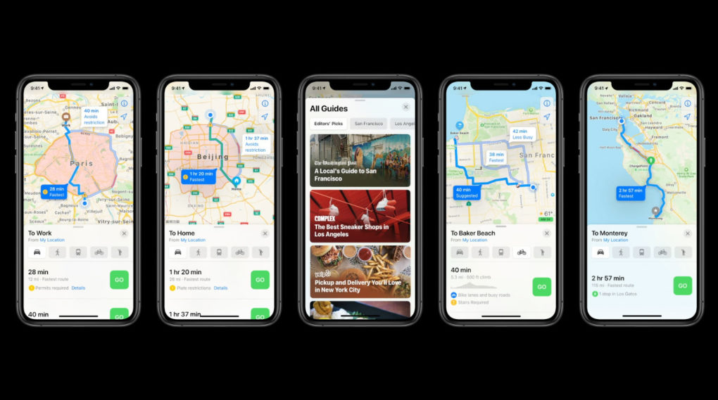 Apple iOS 14 Maps