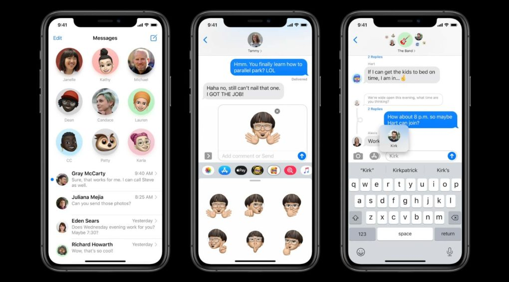 Apple iOS 14 Messages