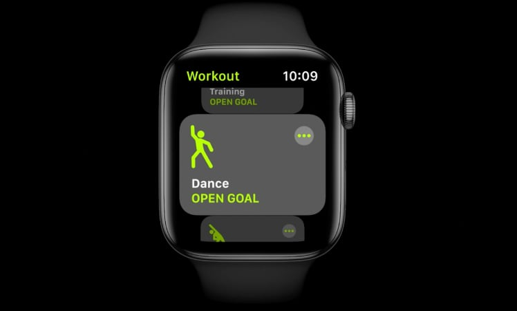 Apple watchOS 7 Dance