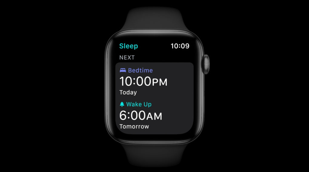 Apple watchOS 7 Sleep-Tracking