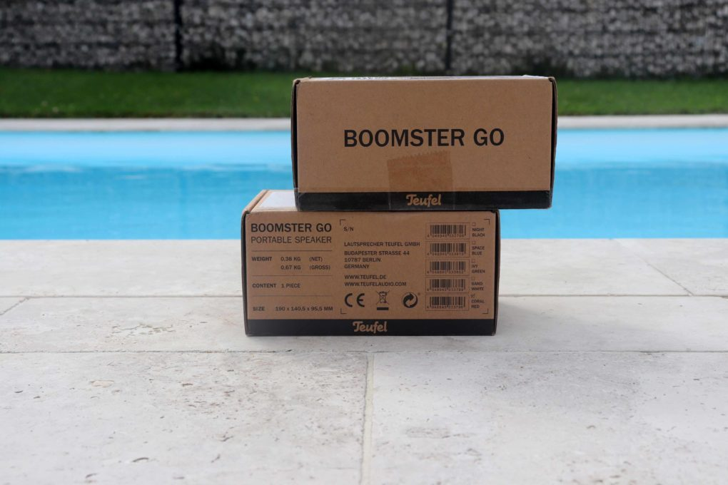 Teufel BOOMSTER Go Unboxing