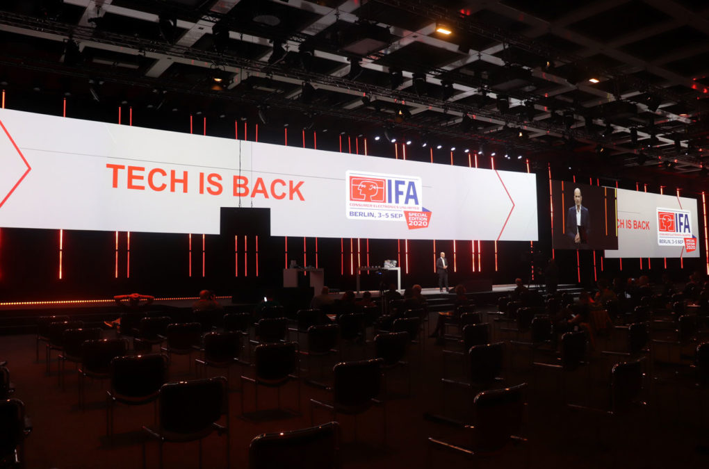 Tech Is Back IFA 2020