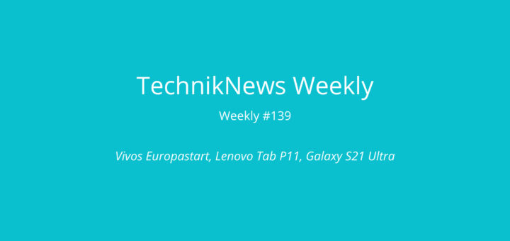 TechnikNews Weekly #139 Beitragsbild