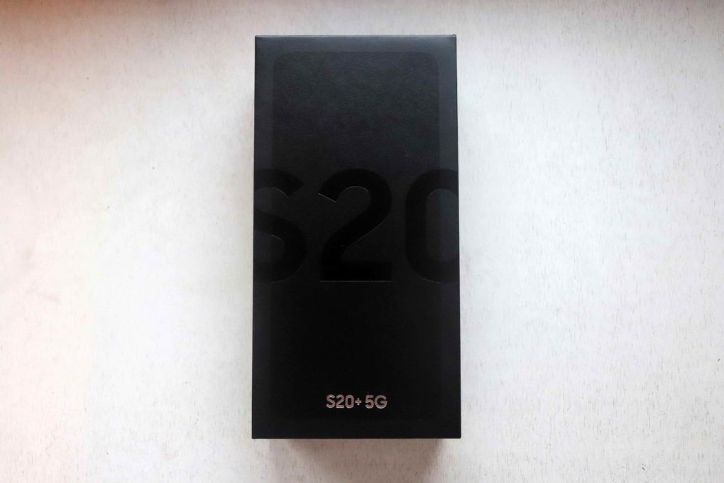 Samsung Galaxy S20 Plus 5G Unboxing