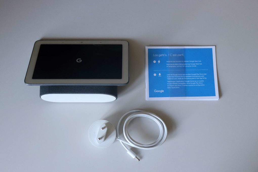 Google Nest Hub Unboxing