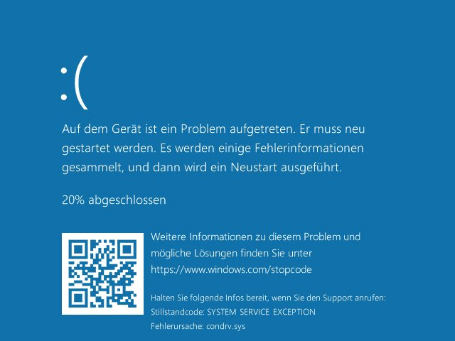 Windows 10 Bluescreen Crash Pfad