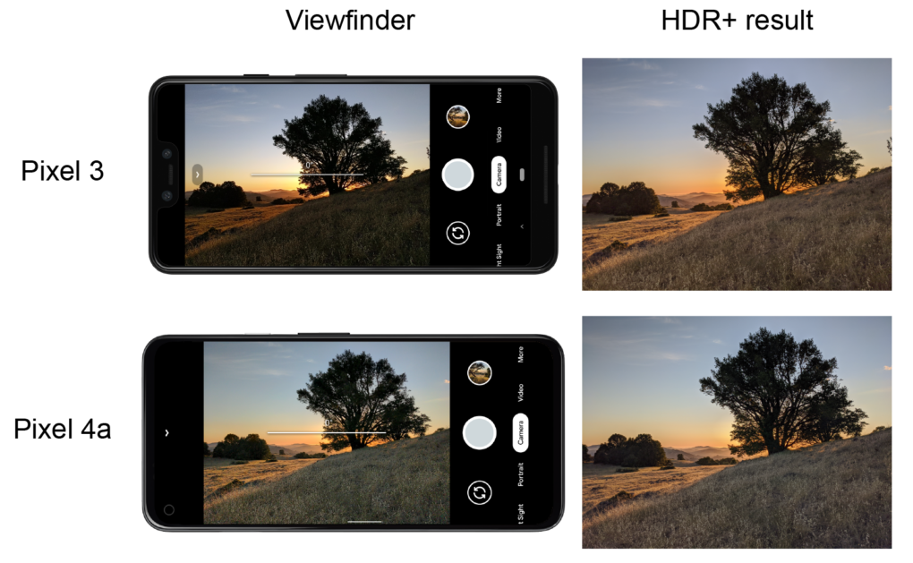 GCam LiveHDR im View Finder