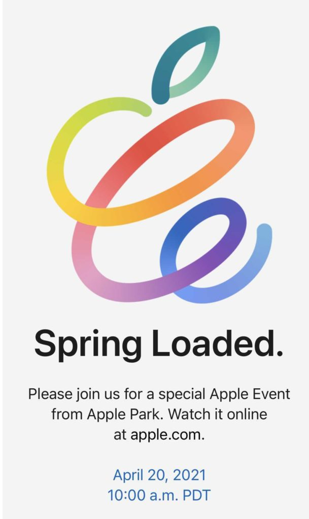 Apple Special Event Spring
