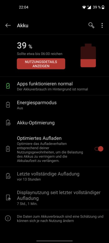 OnePlus Nord N10 5G Screen-On-Time