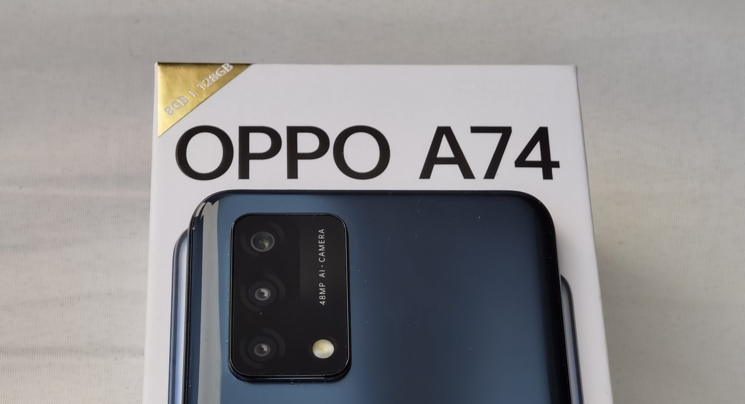 OPPO A74 Unboxing Header