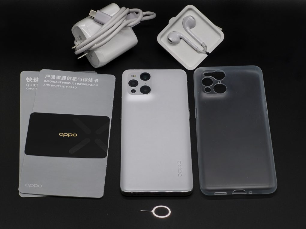 OPPO Find X3 Lieferumfang